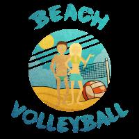 Beach Volleyball Beachen Geschenk Idee