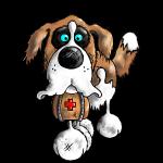 """""""Bernhard"""" - Bernhardiner - Hund"""