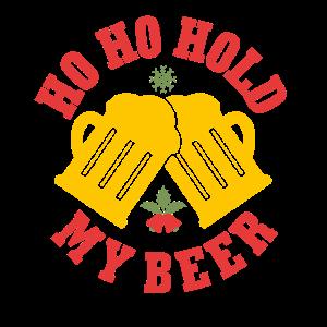 Lustiges Weihnachts T-Shirt Bier