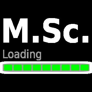 M.Sc. Master of Science Uni Studium Abschluss Idee