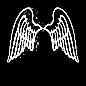 Flügel Engel Engelsflügel Angelwings weiß