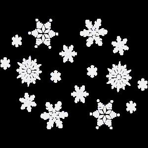 Schneeflocken Weihnachten