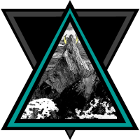 Triangel Berg Mond