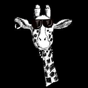 Coole Giraffe Mit Sonnenbrille I Giraffen Comic