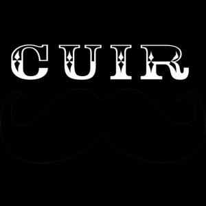 Cuir Moustache - Logo Noir