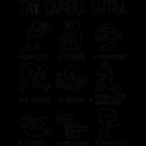 Der Kamera Sutra lustiger Fotograf