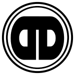 DDz Badge Logo (B&W)
