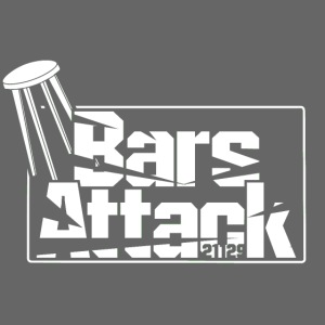 BarsAttack White Logo