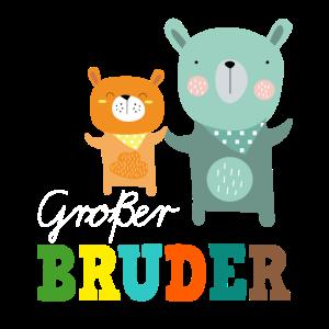 Großer Grosser Bruder Bär T-Shirt Bären