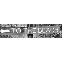 "Shirt ""to the beach"""