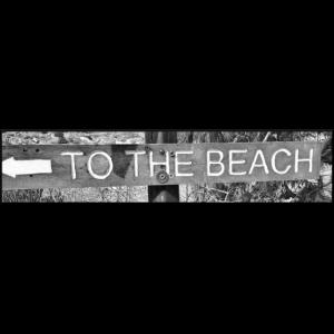 "Shirt ""to the beach"""