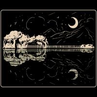 Guitar Lake Shadow - Musik Instrument Musiker Band