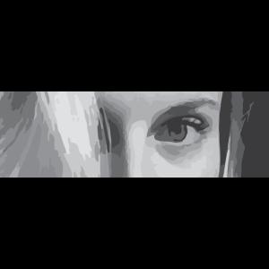 Augen Maedchen - Geschenk Boxlogo