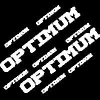 Optimum typografie weiss