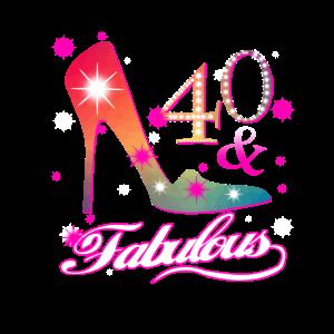 Fabulous 40 Geburtstagsgeschenk