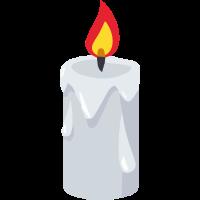 Kerze Halloween Motiv Fest Geschenk Idee