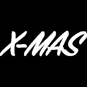 X-Mas I Weiß I Christmas I Weihnachten I classic