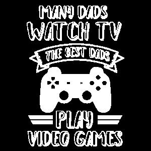Vater papa der zocken gaming liebt