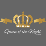 Queen of the Night - Krone - Gold White - Edition