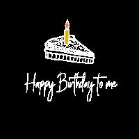 Happy Birthday Geburtstagskind Kuchen Motiv Design