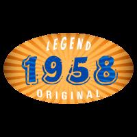 Geburtsjahr 1958 Legend Original