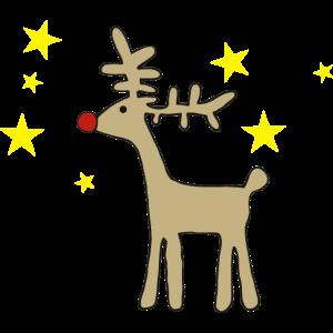 Weihnachten baby rudolph rentier kind geschenk