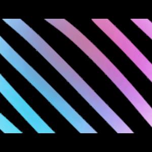 Farbenfrohe Streifen Pink Blau Geschenkidee