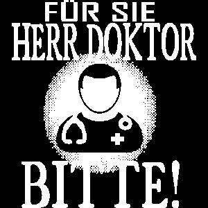 Für Sie Herr Doktor Bitte Promotion Geschenk