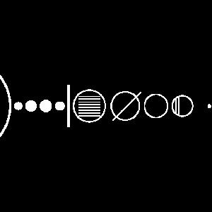 Minimalistisches Sonnensystem