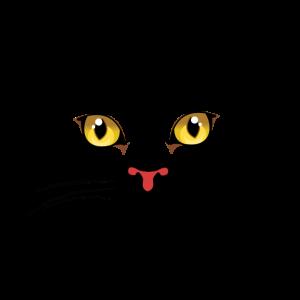 Katze Gesicht T-Shirt