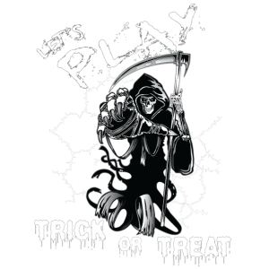 Let's play trick or treat Halloween Zombie Monster