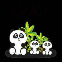 Süßes Panda Shirt