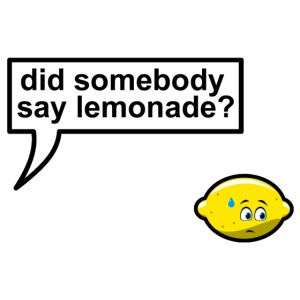 Did somebody say lemonade