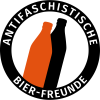 Antifa Logo Humor Antifaschistische Bier-Freunde