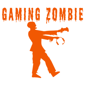 Funny Gaming Zombie