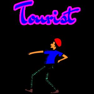 Tourist Figur