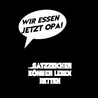 Essen Opa Schule Spruch Lustig Deutsch