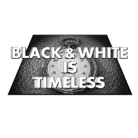 Black and white is timeless