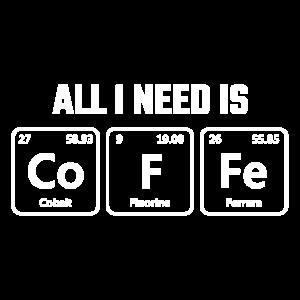 Kaffee Chemisches Element