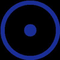 ICH BIN - Schöpfer aktiviert - Punkt in Kreis - c - Symbol des schöpferischen Universums / Universelles Symbol I