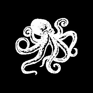 Oktopus Krake Kraken Shirt