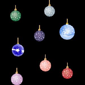 Weihnachtskugeln Weihnachtsbaum Geschenk