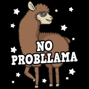 No Probllama Alpaka Lama