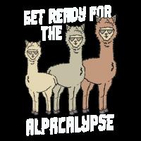 Alpaka Alpakas Get Ready For The Alpacalypse