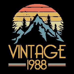 1988 Vintage Berge Outdoor Natur Camping Wandern