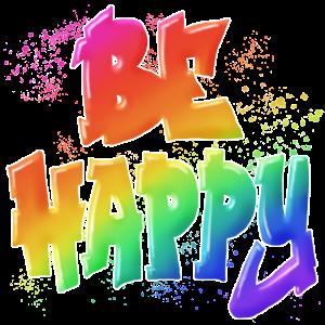 Be Happy ... Geschenkidee