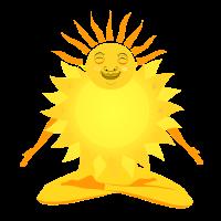 Sonne meditieren