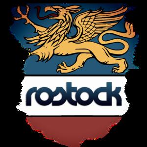 Rostock, Wappen Rostocker Greif,Hansestadt