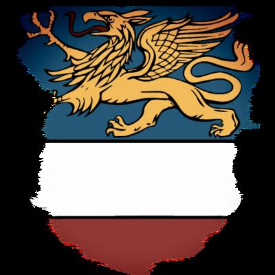 Rostock, Wappen Rostocker Greif, T-Shirts und Meer - Hansestadt Rostock, T-Shirts und Meer - Wappen,Rostocker Greif,Rostock,Pracht-Expression,Pracht,Hansestadt Rostock,Greif,Deutschland