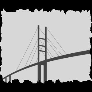 Ausgefranste Rügenbrücke